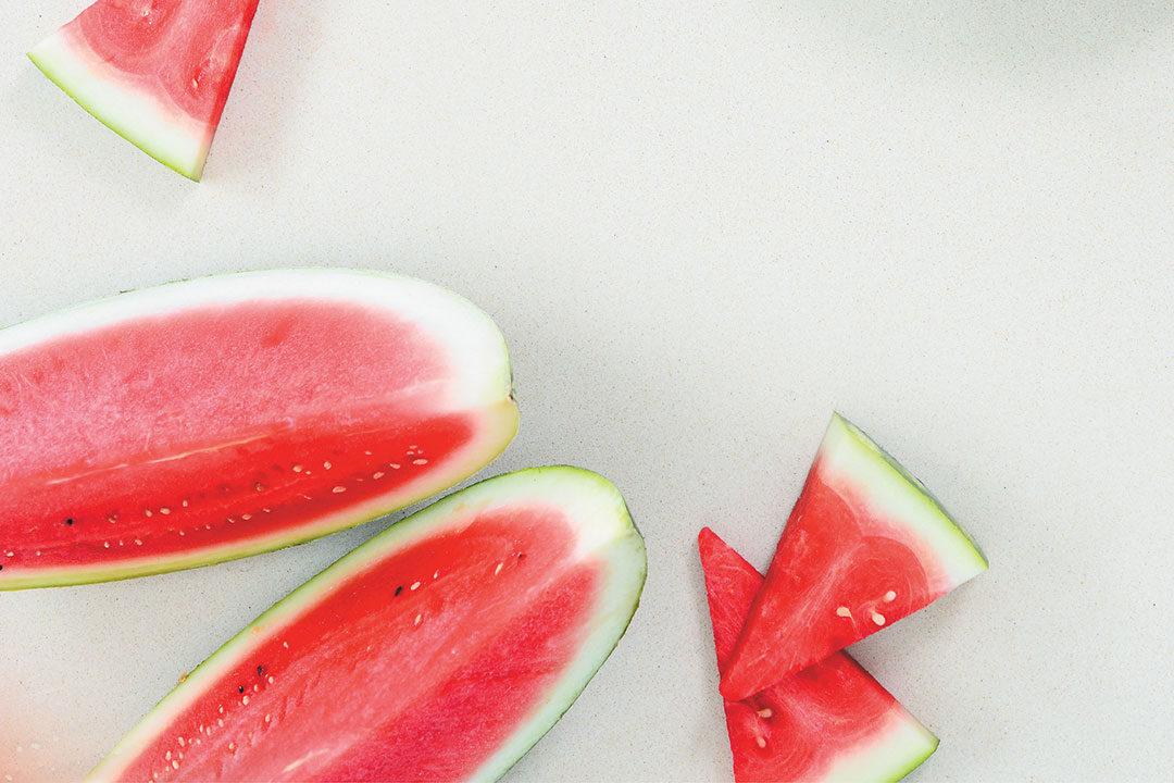 A summery watermelon salad recipe