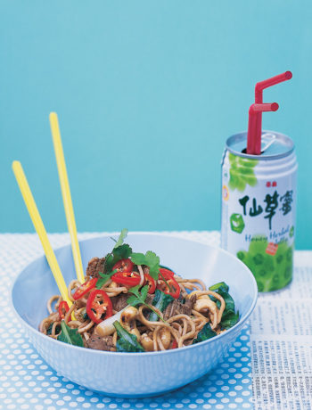Sichuan beef, tat soy and cashew stir-fry recipe