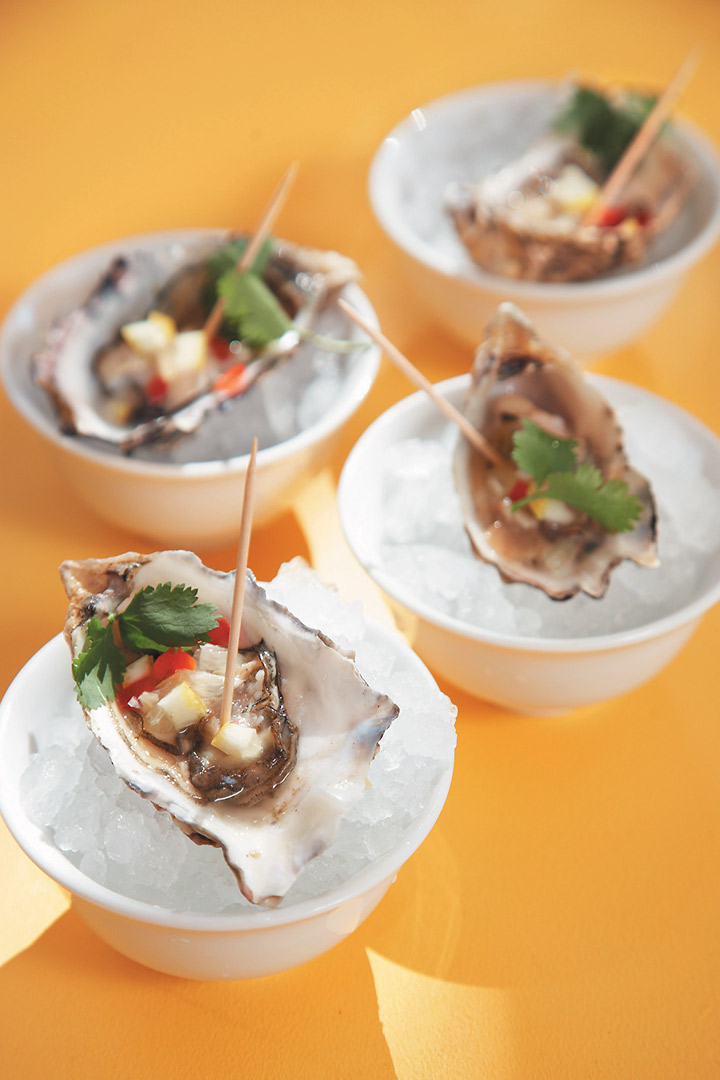 Namibian oysters on ice with lemon rind salsa recipe fhe magazine namibian oysters on ice with lemon rind salsa recipe forumfinder Images