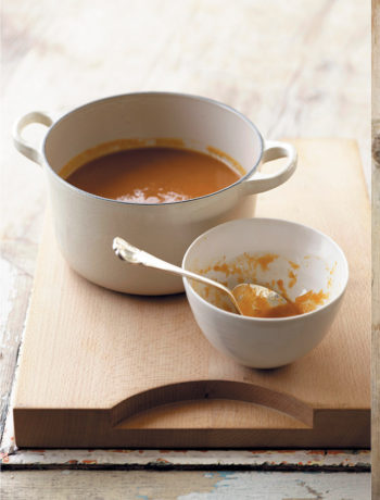 Carrot and orange winter soup recipe