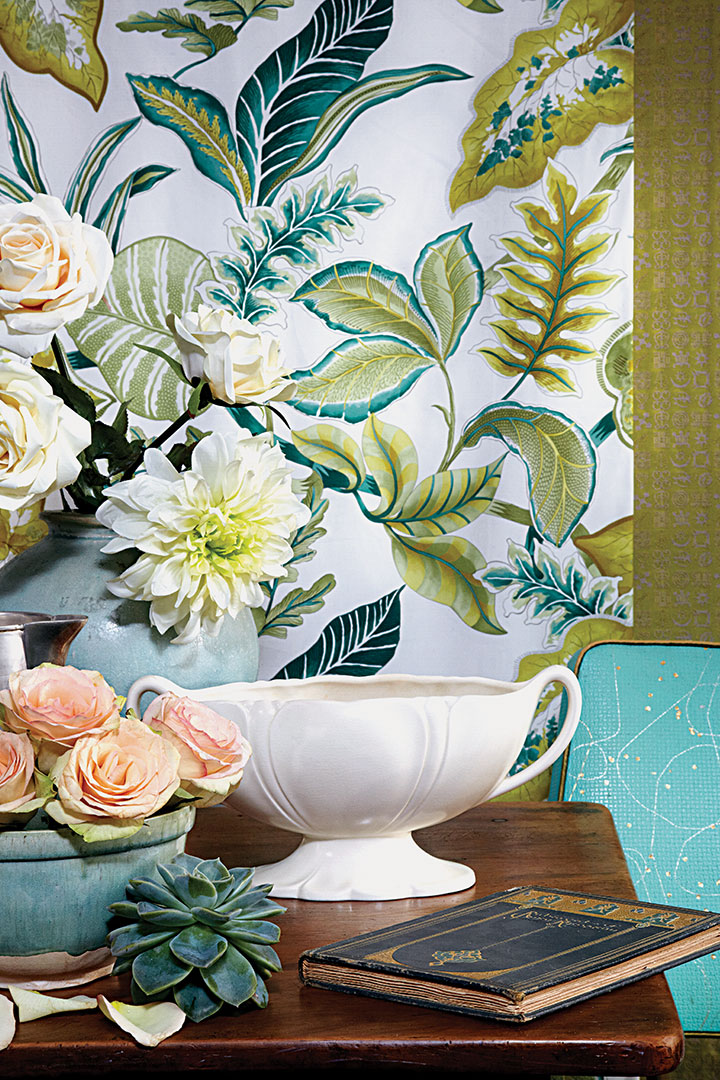 botany lesson table manners decor