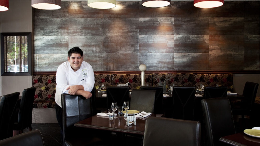 Marthinus Ferreira, chef and owner of dw eleven-13