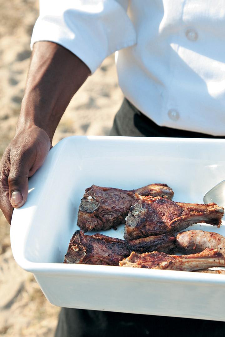 Nkomazi lamb chops recipe