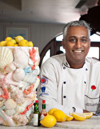 Kevin Joseph creates meals fit for kings at the Oyster Box Hotel