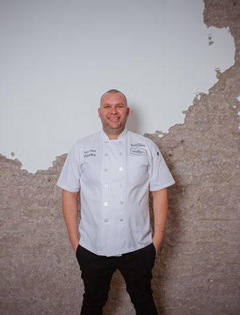 Chef James Diack