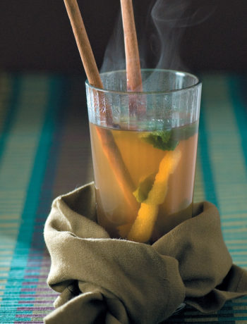 Hot and spicy winter toddy recipe
