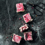 Smoked Earl Grey and berry marshmallows