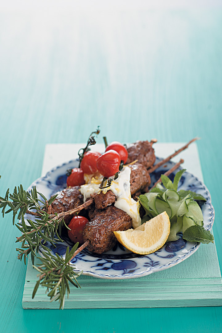 Turkish-style kofta kebabs recipe