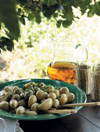 Baby potato and herb salad recipe
