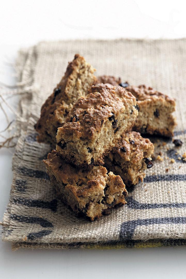 Scrumptious fruit and bran rusks recipe