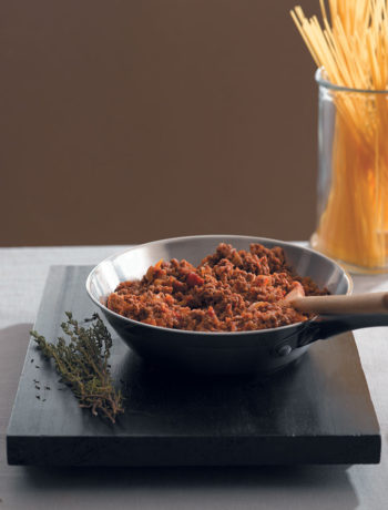 Cheat's spaghetti Bolognese recipe