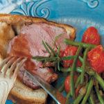 Gigot en croute (crusty leg of lamb)