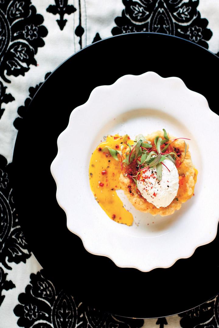 Smoked haddock tart with fennel and leeks recipe