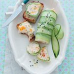 No-set chicken, apricot and cucumber terrine