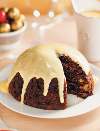 Karoo steamed Christmas pudding