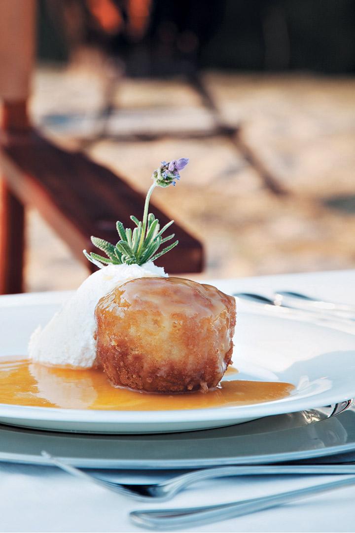 Malva pudding with Amarula sauce recipe