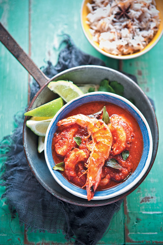 Prawn Madras recipe