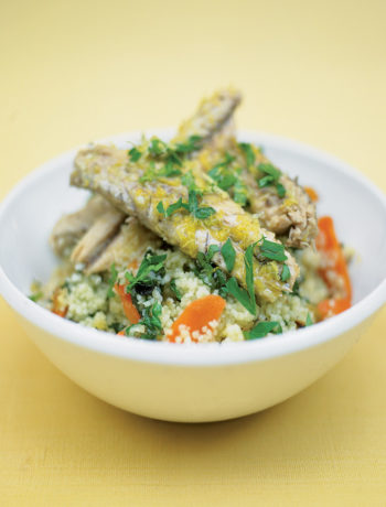 Good fish and couscous recipe