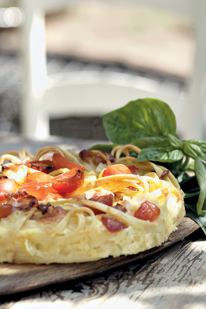 Pasta Frittata Recipe Food And Home Entertaining