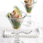 Prawn and avocado cocktail with aïoli