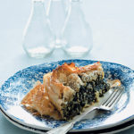 Spanakopita (spinach, feta and phyllo pie)