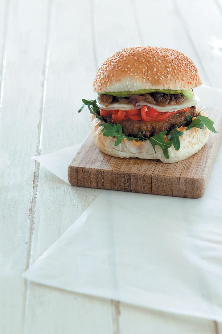 The F&HE burger recipe