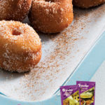 Mini sugar and cinnamon doughnuts