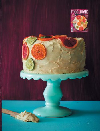 Salvador citrus drizzle and cream cheese cake