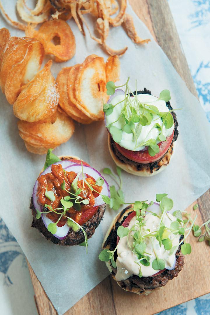 The great burger recipe