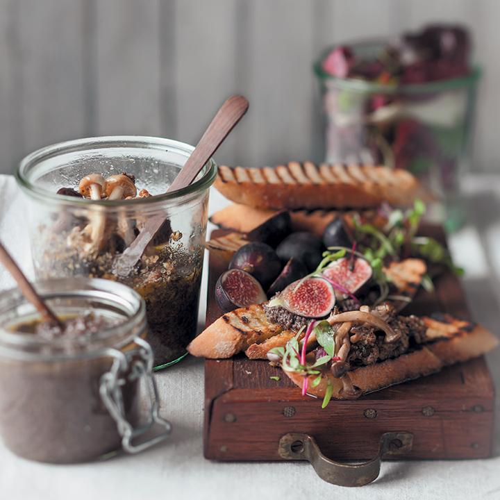 How to make the perfect smoked olive tapenade