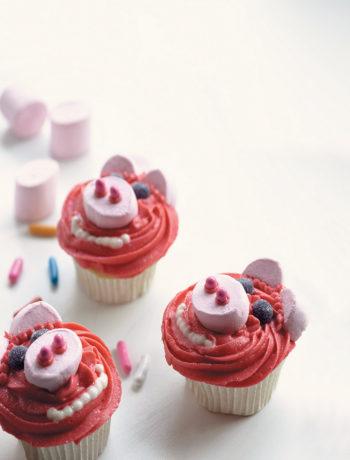 Piggy cupcakes recipe