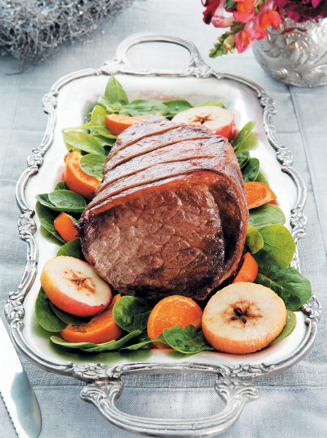 roast sirloin of beef