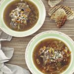 Slow cooked Irish lamb and barley soup