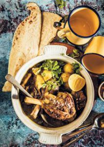 curried lamb soup