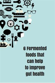 Fermented foods that can help to improve gut health
