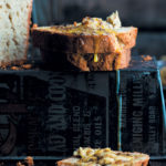 Banana bread with biltong butter