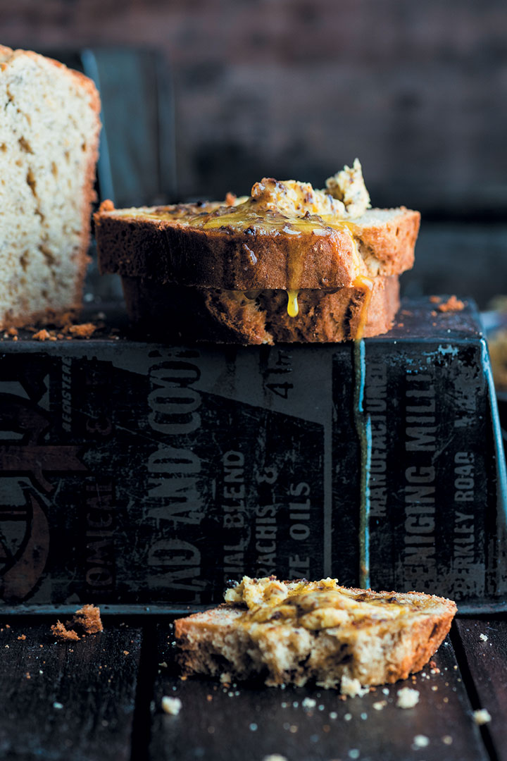 Banana bread with biltong butter recipes