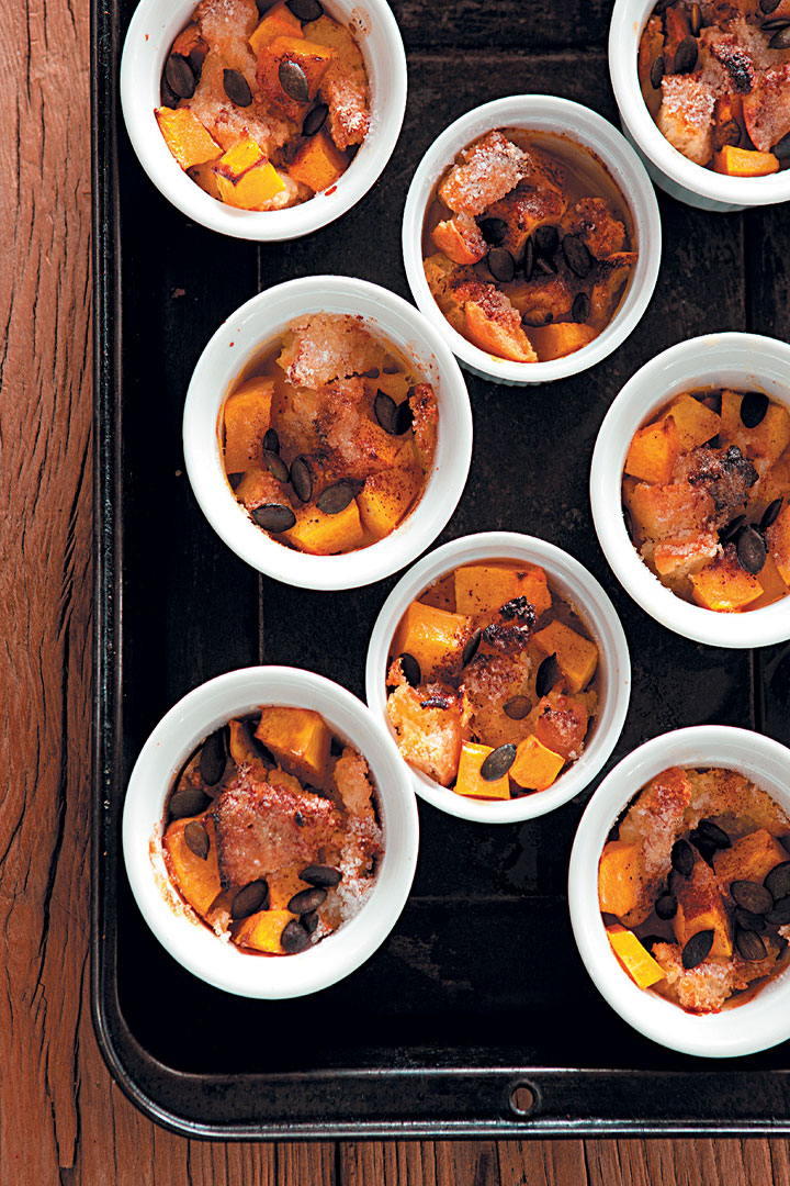 Bread and pumpkin bake recipe