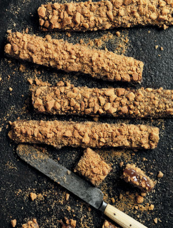 Caramel ginger slice recipe