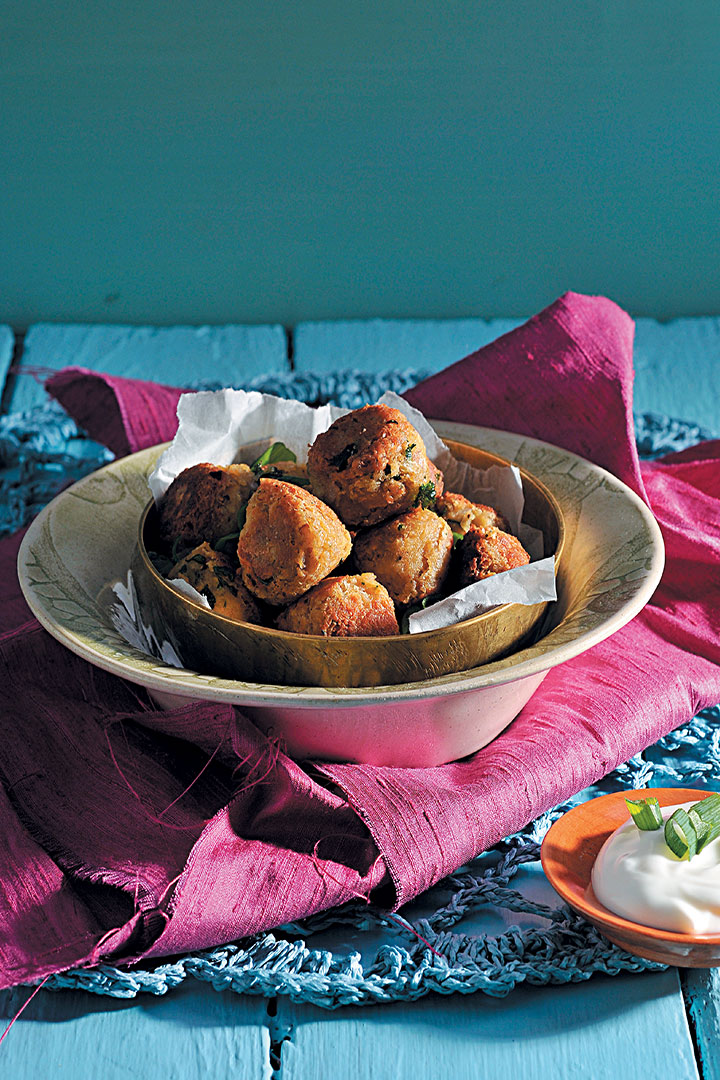 Chunky falafel bites recipe