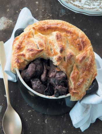Duck and cherry pie recipe