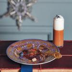 Espresso and dark chocolate vacherin