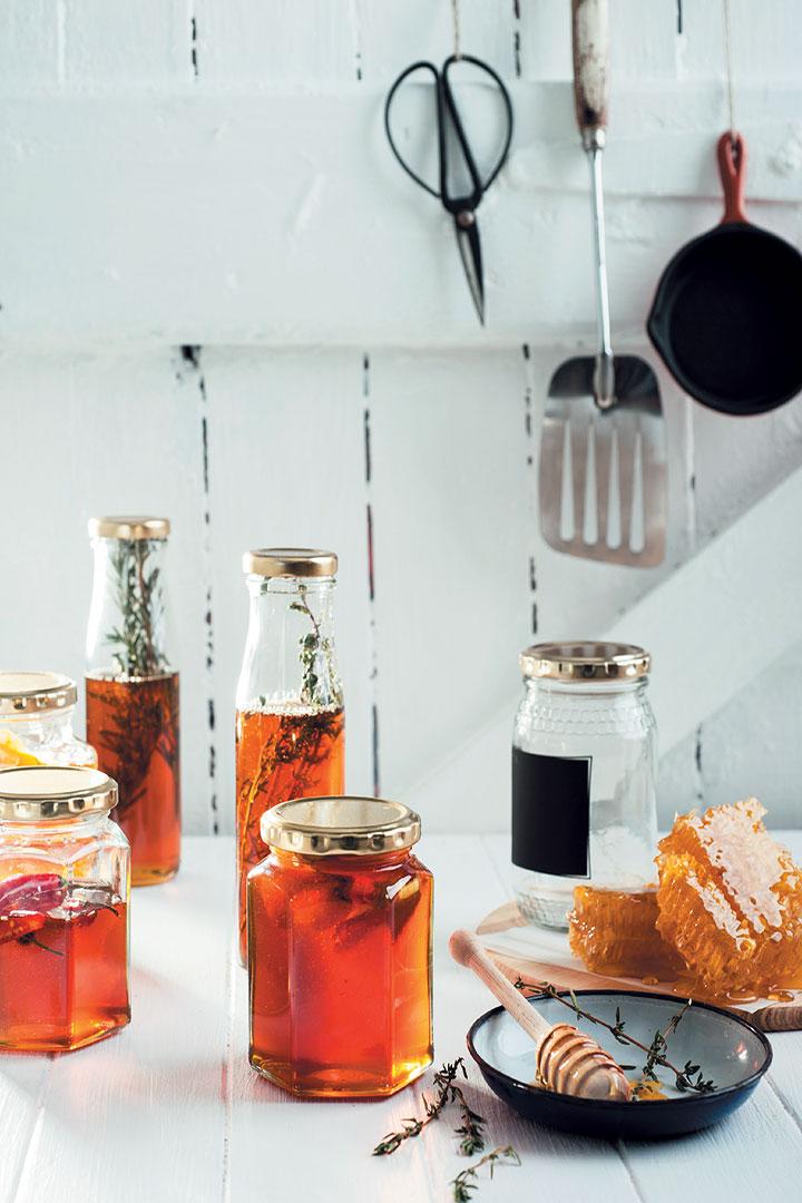 Flavoured honey recipe