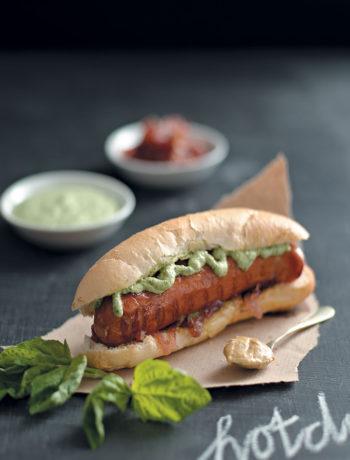 Gourmet hotdog recipe