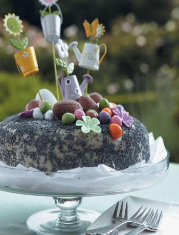 Lemon and poppy-seed cake recipe