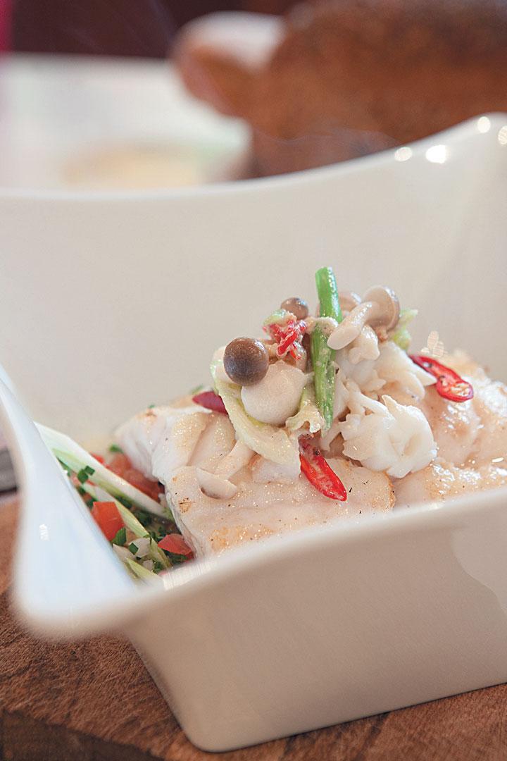 Lightly spiced linefish recipe