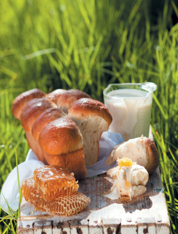 Milk bread with clotted cream and honeycomb back recipe