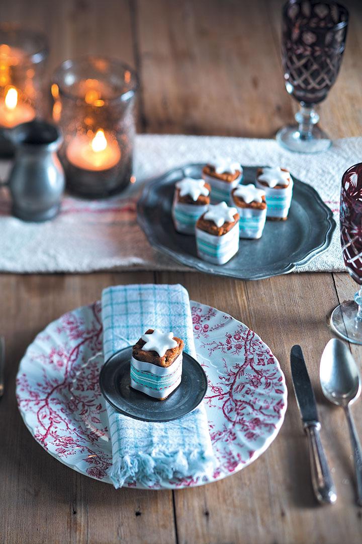Mini Christmas cakes recipe
