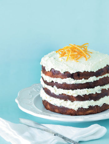 Orange and lime cream cake recipe