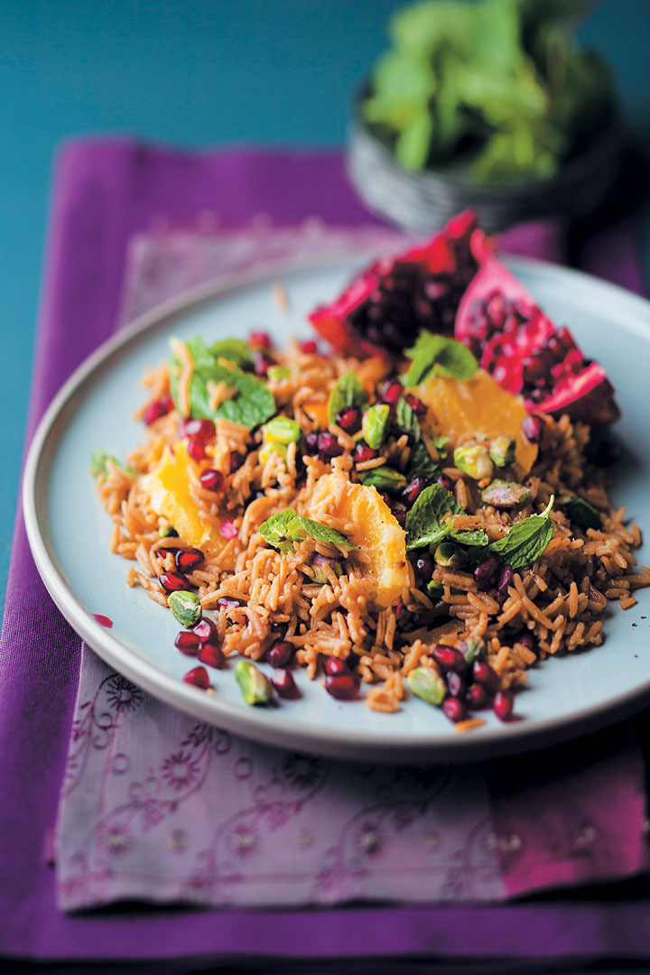 Persian pilaf with pistachios recipe - Food and Home ...